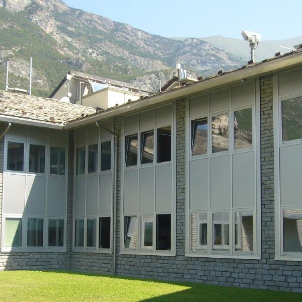Serramenti - Sede CVA – Chatillon (AO)