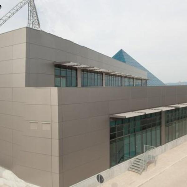 Rivestimento di facciata - Centro Direzionale Scarpe&Scarpe – Borgaro T.se (TO)