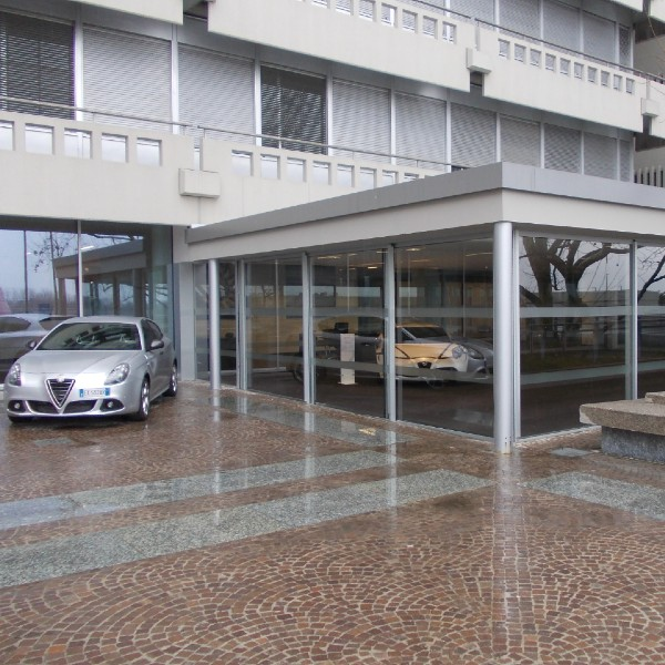 Serramenti –Museo Alfa Romeo – Arese (MI)
