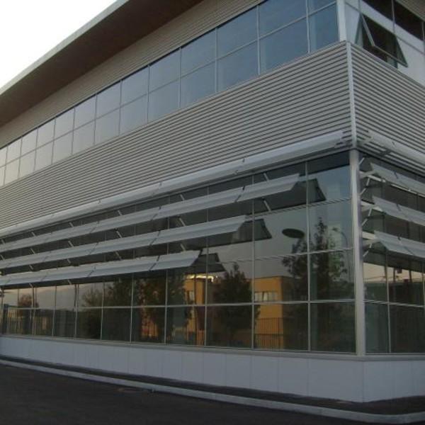 Rivestimento di facciata – Palazzina Uffici Lavazza – Torino
